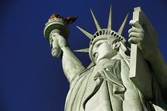 Το άγαλμα της ελευθερίας στοκ εικόνες με δικαίωμα ελεύθερης χρήσης