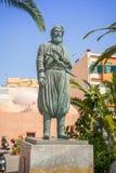 Το άγαλμα του οπλαρχηγού και του μαχητή ελευθερίας Στοκ Εικόνες