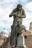 Το άγαλμα του Antonio Canova 1757-1822 ποιος ήταν ιταλικός γλύπτης από τη Δημοκρατία της Βενετίας Το άγαλμα βρίσκεται σε Prato δ Στοκ εικόνες με δικαίωμα ελεύθερης χρήσης