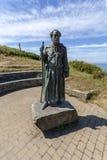Το άγαλμα του ST Crannog στοκ εικόνα με δικαίωμα ελεύθερης χρήσης