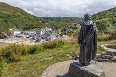 Το άγαλμα του ST Crannog στοκ εικόνες με δικαίωμα ελεύθερης χρήσης