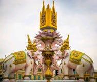 Το άγαλμα ελεφάντων στοκ εικόνες με δικαίωμα ελεύθερης χρήσης