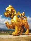 Το άγαλμα λιονταριών στοκ εικόνα