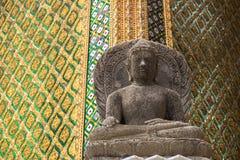 Το άγαλμα πετρών του Βούδα Στοκ φωτογραφία με δικαίωμα ελεύθερης χρήσης