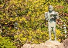Το άγαλμα που αντιπροσωπεύει τις καλές αρετές, εργατικός και την εμμονή Στοκ Εικόνες