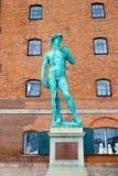 Το άγαλμα στην Κοπεγχάγη Δανία Στοκ Εικόνες