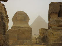 Το άγαλμα της Αιγύπτου Sphinx Στοκ εικόνα με δικαίωμα ελεύθερης χρήσης