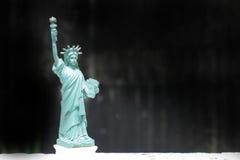 Το άγαλμα της ελευθερίας, άγαλμα της ελευθερίας, άγαλμα ελευθερίας, αμερικανικό σύμβολο, Νέα Υόρκη, ΗΠΑ, κούκλα και ειδώλιο, ακόμ Στοκ φωτογραφίες με δικαίωμα ελεύθερης χρήσης