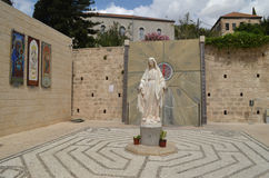 Το άγαλμα της Virgin Mary Στοκ Φωτογραφία