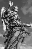 Το άγαλμα του αγγέλου με τα καρφιά Στοκ Εικόνα