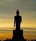 Το άγαλμα του Βούδα σε Phuttamonthon, Nakhon Pathom Είναι δημόσιος χώρος για BuddhistSiluate Στοκ Εικόνες
