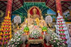 Το άγαλμα του Βούδα στο ναό Wat Phra Yuen Στοκ εικόνες με δικαίωμα ελεύθερης χρήσης