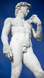 Το άγαλμα του Δαβίδ, κλείνει επάνω την άποψη Στοκ φωτογραφία με δικαίωμα ελεύθερης χρήσης