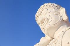 Το άγαλμα του ταϊλανδικού γίγαντα ύφους Lanna στη βασιλική χλωρίδα EXPO, Thaila Στοκ Φωτογραφία