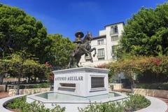 Το άγαλμα του Antonio Aguilar Στοκ φωτογραφία με δικαίωμα ελεύθερης χρήσης