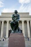 Το άγαλμα φιλοσόφων Στοκ φωτογραφία με δικαίωμα ελεύθερης χρήσης
