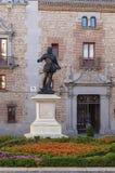 Το άγαλμα φορά το Alvaro de Bazan, Μαδρίτη Στοκ φωτογραφία με δικαίωμα ελεύθερης χρήσης