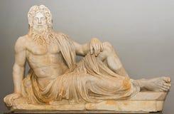 Το άγαλμα Oceanus στο μουσείο Βατικάνου Στοκ φωτογραφία με δικαίωμα ελεύθερης χρήσης
