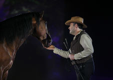 Το άλογο Apassionata εμφανίζει 2013 στοκ εικόνες