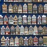 Το Άμστερνταμ, Κάτω Χώρες, 10 μπορεί το 2015: να επιδείξει του μικροσκοπικού καναλιού Στοκ Φωτογραφίες