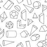 Άνευ ραφής γεωμετρικό σχέδιο. Στοκ Εικόνα