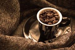 Το άρωμα του καφέ Στοκ φωτογραφία με δικαίωμα ελεύθερης χρήσης