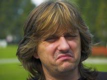 το άτομο απεικονίζει μη πεπεισμένο Στοκ εικόνα με δικαίωμα ελεύθερης χρήσης