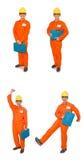 Το άτομο φόρμες που απομονώνεται στις πορτοκαλιές στο λευκό Στοκ Φωτογραφία