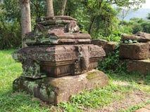 Το άδυτο γιων μου, περιοχή παγκόσμιων κληρονομιών της ΟΥΝΕΣΚΟ σε Danang, Βιετνάμ. Στοκ Φωτογραφία