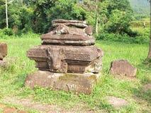 Το άδυτο γιων μου, περιοχή παγκόσμιων κληρονομιών της ΟΥΝΕΣΚΟ σε Danang, Βιετνάμ. Στοκ Εικόνες