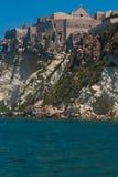 Το άδυτο της Σάντα Μαρία μια φοράδα στα νησιά Tremiti Στοκ φωτογραφία με δικαίωμα ελεύθερης χρήσης
