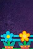 το έγγραφο λουλουδιών Στοκ φωτογραφία με δικαίωμα ελεύθερης χρήσης