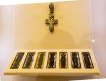 Το έκθεμα στο μουσείο του μοναστηριού savior των steuthymias, suzdal, Ρωσία Στοκ Φωτογραφίες