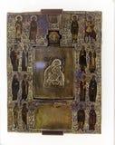 Το έκθεμα στο μουσείο του μοναστηριού savior των steuthymias, suzdal, Ρωσία Στοκ Φωτογραφία