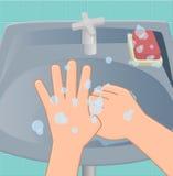Το έκτο στάδιο των χεριών πλύσης