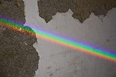 το έμβλημα χρωματίζει τα πλέγματα απεικόνισης καμπυλών κανένα διανυσματικό λευκό ουράνιων τόξων Στοκ Φωτογραφία
