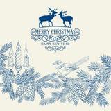 Το έλατο Χριστουγέννων Στοκ φωτογραφία με δικαίωμα ελεύθερης χρήσης