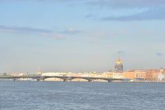Το αγγλικό ανάχωμα και η Annunciation γέφυρα Στοκ φωτογραφία με δικαίωμα ελεύθερης χρήσης