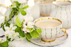 Αγγλικό τσάι στοκ φωτογραφίες
