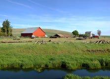 Το αγροτικό ανατολικό πολιτεία της Washington χωρών. Στοκ φωτογραφία με δικαίωμα ελεύθερης χρήσης