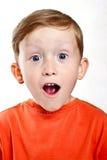 το αγόρι αναρωτιέται Στοκ Φωτογραφίες