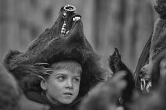 Το αγόρι αρκούδων Στοκ Εικόνα