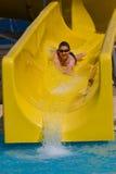 Διασκέδαση στο aquapark Στοκ Εικόνες