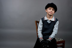 το αγόρι διαμόρφωσε παλα&io Στοκ εικόνα με δικαίωμα ελεύθερης χρήσης