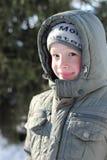 Το αγόρι με τα ροδοειδή μάγουλα Στοκ φωτογραφία με δικαίωμα ελεύθερης χρήσης