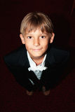 το αγόρι που ντύνεται εξυ& Στοκ φωτογραφία με δικαίωμα ελεύθερης χρήσης