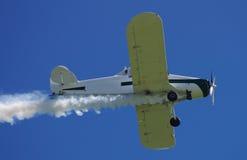 το αεροπλάνο εμφανίζει Στοκ Εικόνα
