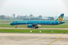 Το αεροπλάνο της επιχείρησης αερογραμμών του Βιετνάμ στοκ εικόνα με δικαίωμα ελεύθερης χρήσης