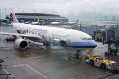 Το αεροπλάνο Masalu Ταϊβάν από τις αερογραμμές της Κίνας στοκ φωτογραφία με δικαίωμα ελεύθερης χρήσης