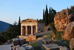 Το αθηναϊκό Υπουργείο Οικονομικών στους Δελφούς στοκ φωτογραφίες